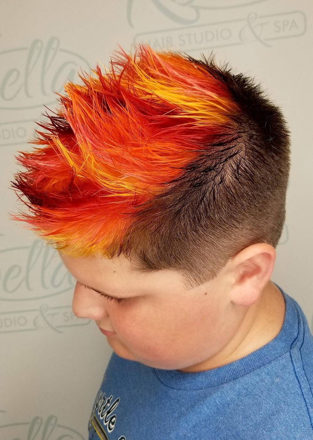 Children S Cut Color Gallery K Bella Hair Studio Spa In Brighton